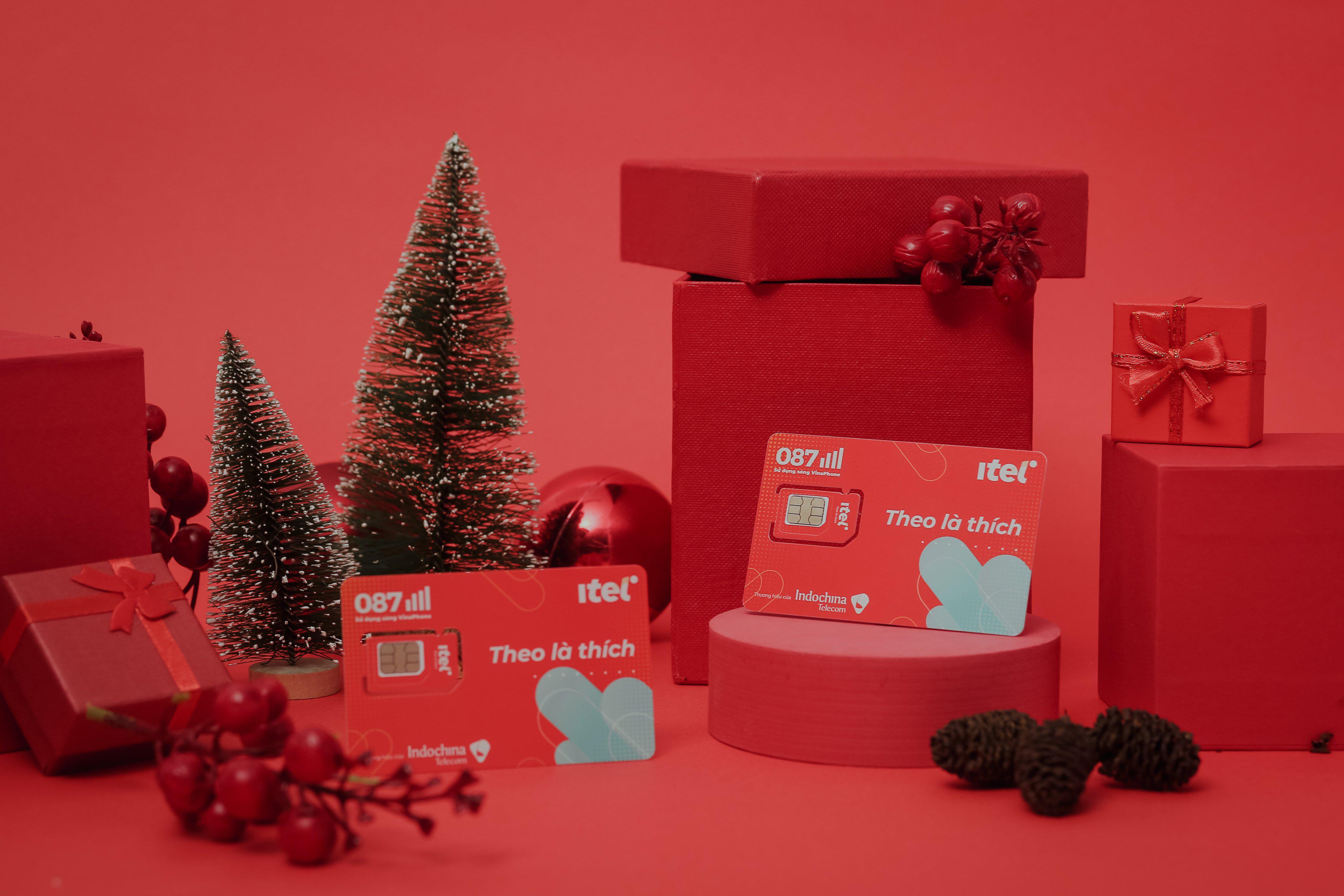 Cùng iTel đón Giáng Sinh an lành