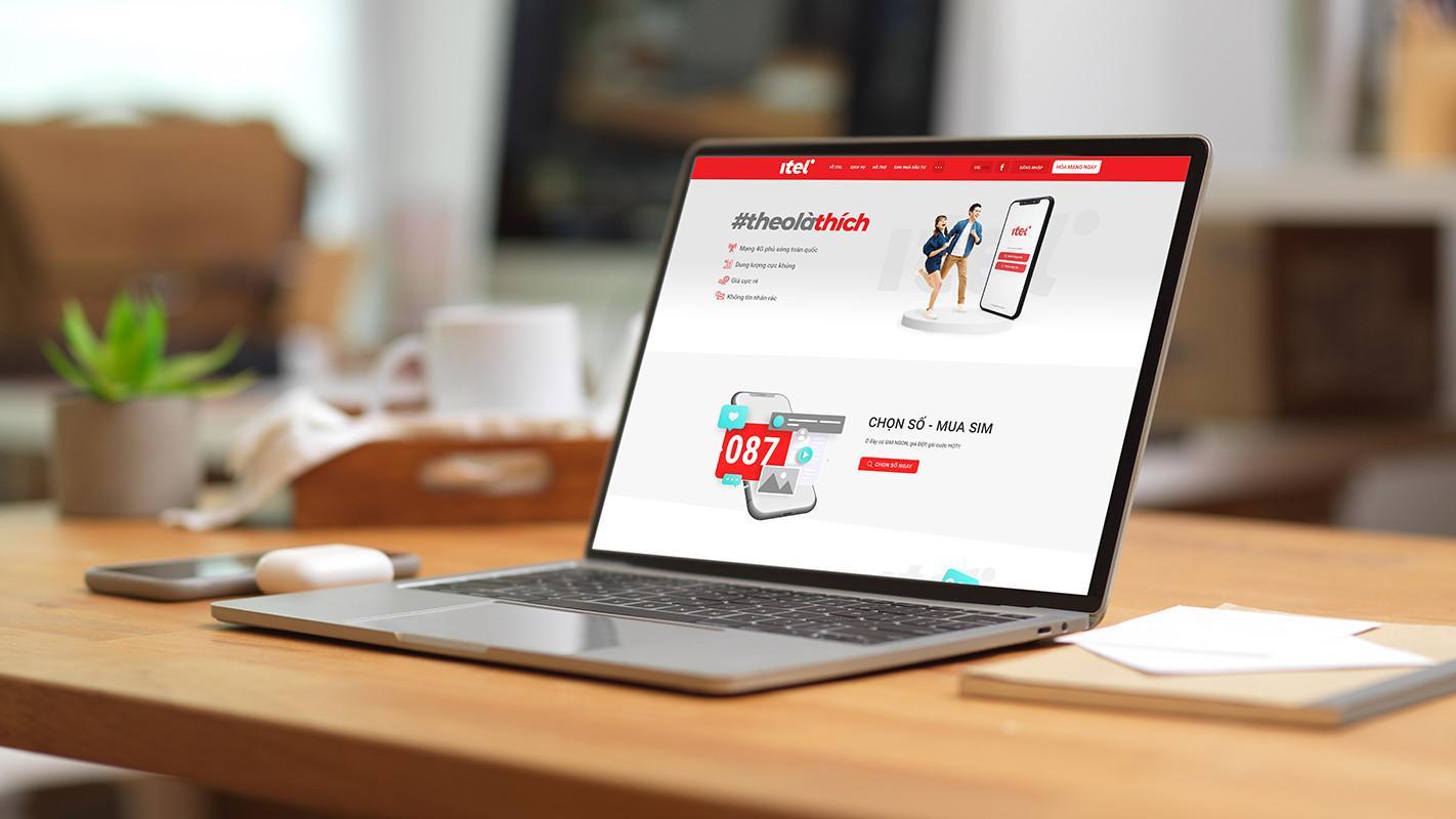 Trải nghiệm chọn số và chăm sóc khách hàng online tại Website của mạng di động iTel